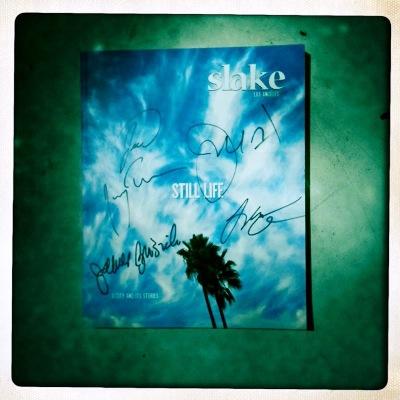 My autographed copy