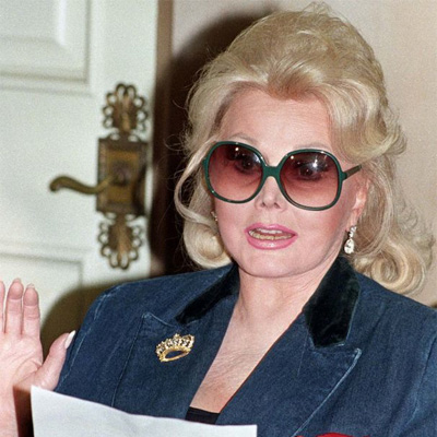 Zsa Zsa Gabor is back to the UCLA Ronald Reagan Medical Center.