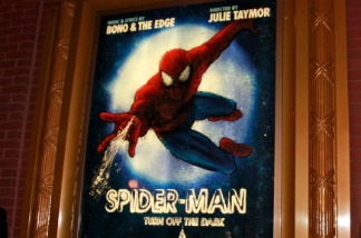 A poster for Spider-Man: Turn Off the Dark. Charles Eshelman/Getty Images