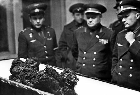 Vladimir Komarov's remains