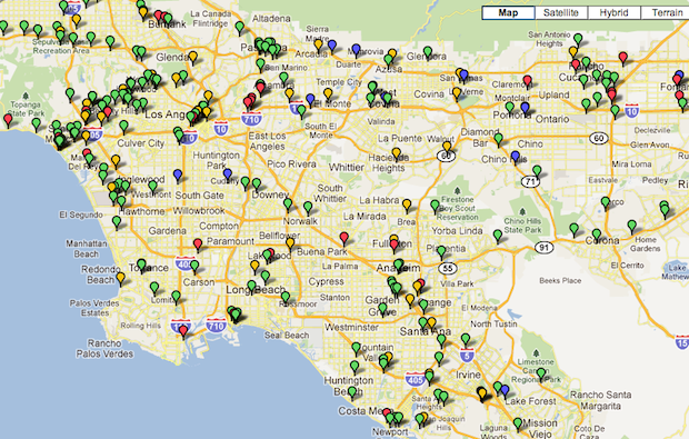 Costco Pulling Out Of Californias Plugin Car Culture KPCC - Costco us locations map