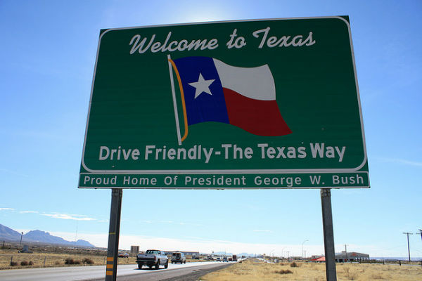 Welcome-Texas-Sign